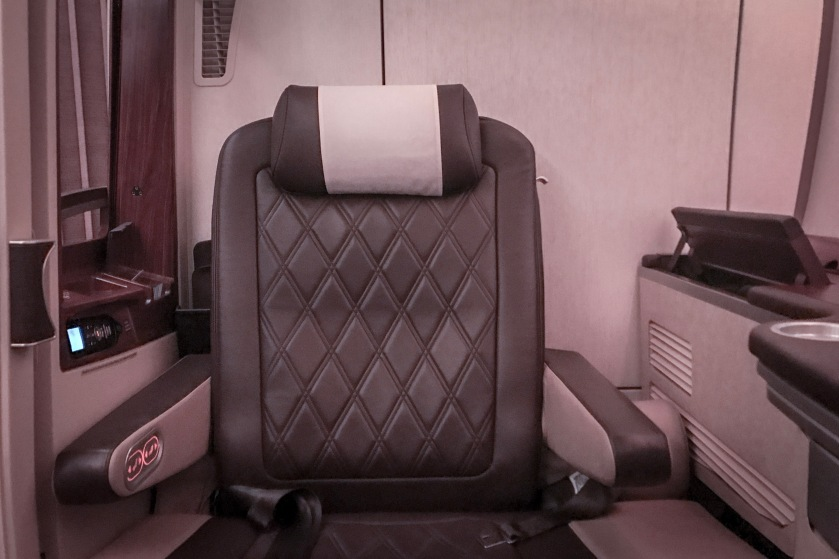 Singapore Airlines A380 suite seat