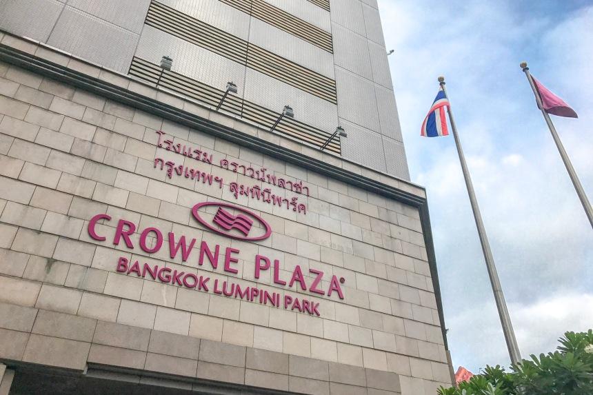 Rooms: REVIEW: Crowne Plaza Bangkok Lumpini Park, Deluxe Room