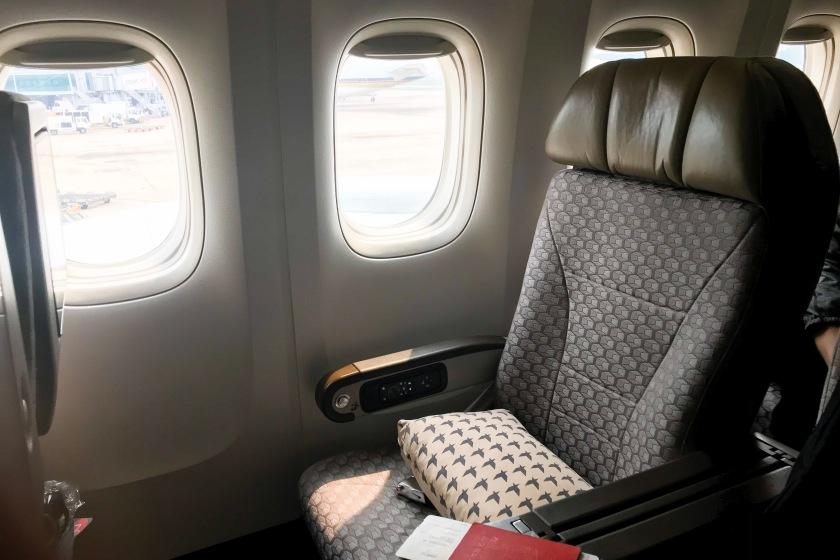 EVA Air Premium Economy seat