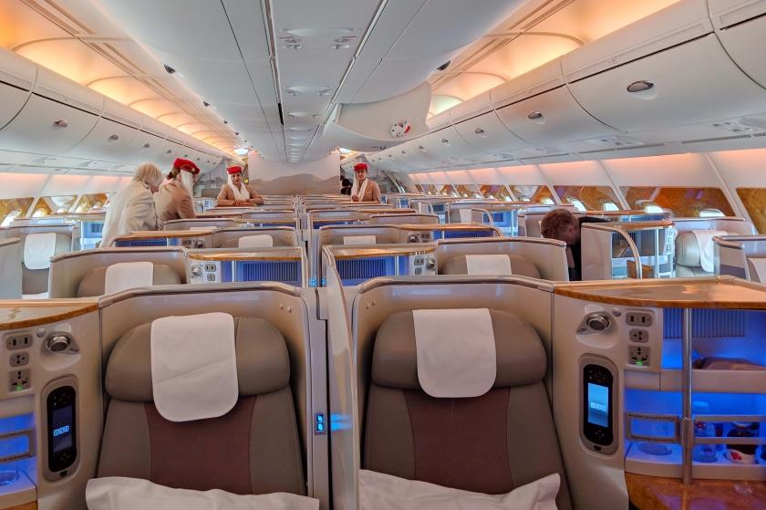 FLIGHT REVIEW: Emirates A380 Business Class, London (Gatwick