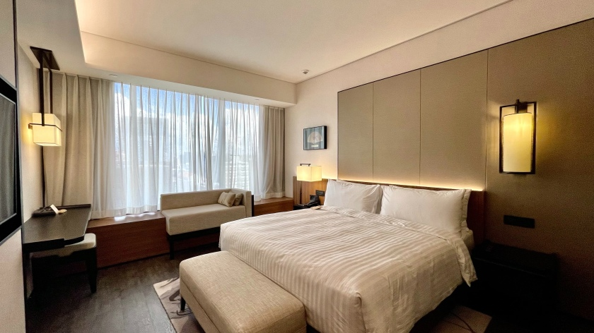 The Clan Hotel Deluxe Room