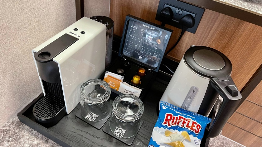 The Clan Hotel Deluxe Room minibar